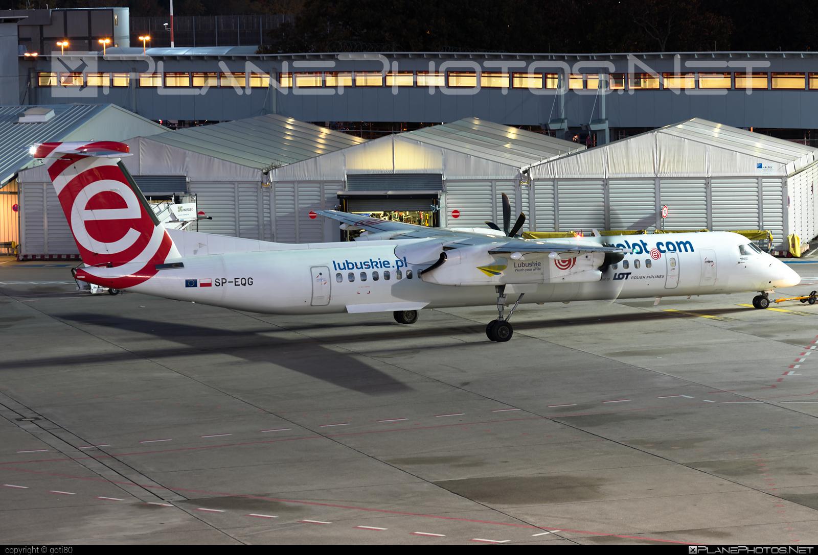 EuroLOT Bombardier DHC-8-Q402 Dash 8 - SP-EQG #bombardier