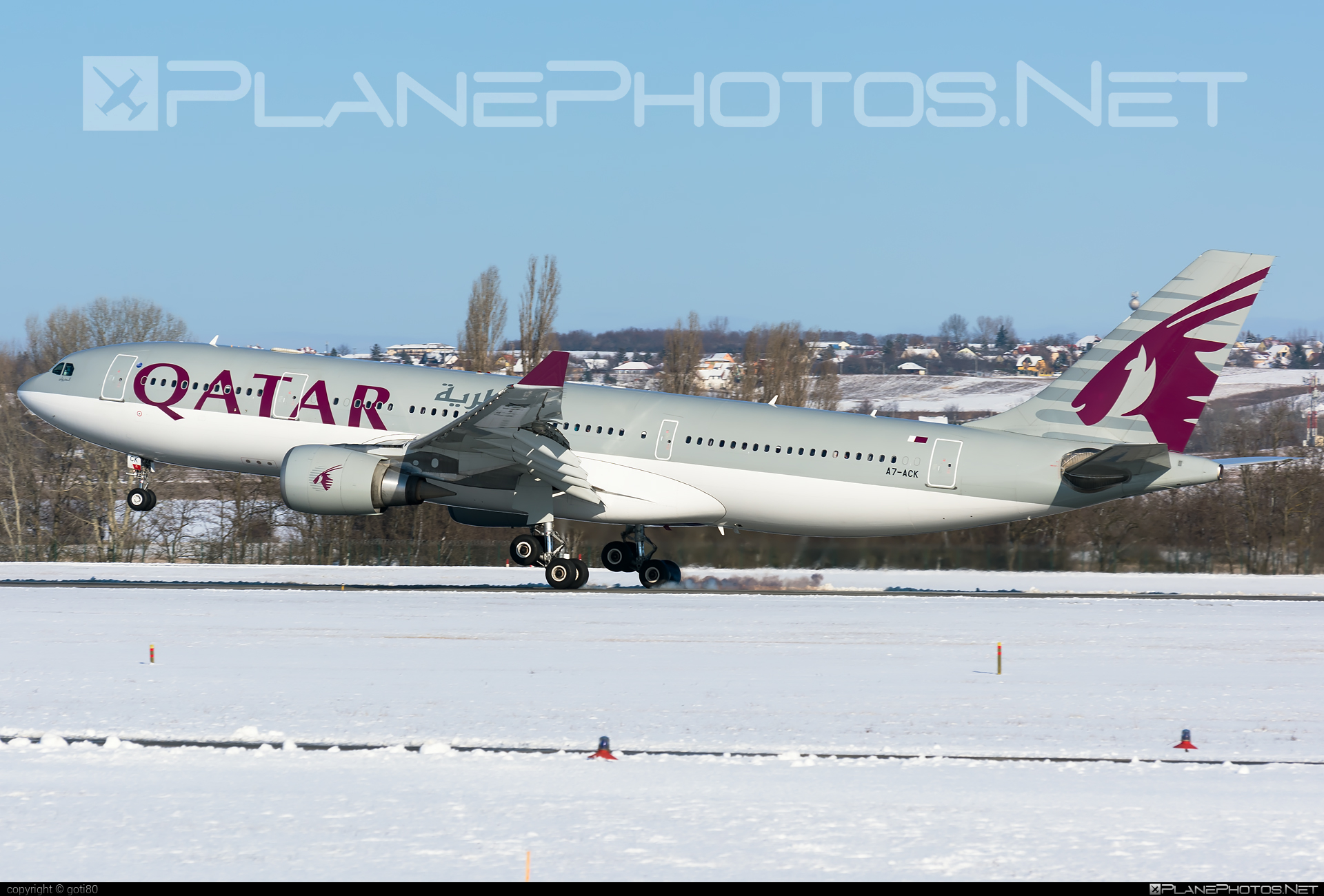 Airbus A330-202 - A7-ACK operated by Qatar Airways #a330 #a330family #airbus #airbus330 #qatarairways
