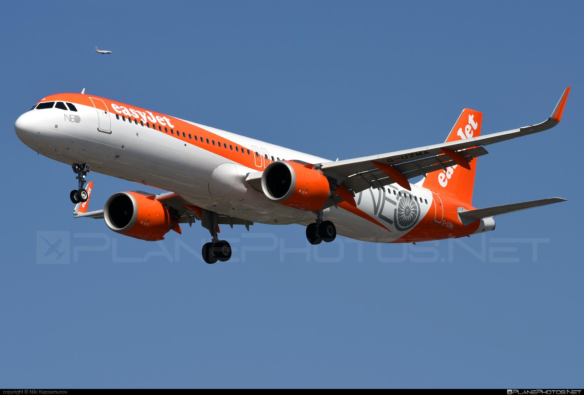 easyJet Airbus A321-251NX - G-UZMA #a320family #a321 #a321neo #airbus #airbus321 #airbus321lr #easyjet