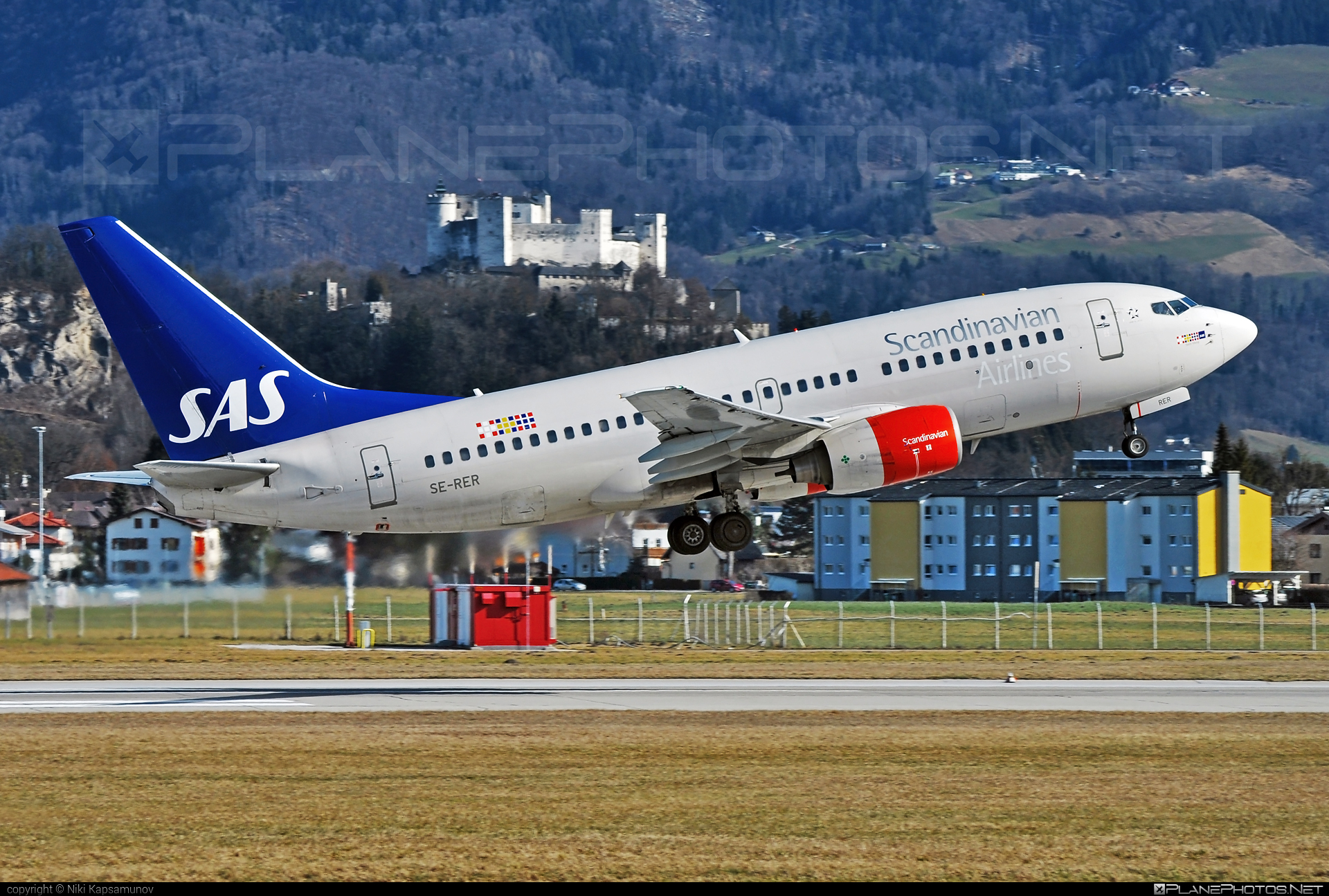 Scandinavian Airlines (SAS) Boeing 737-700 - SE-RER #b737 #b737nextgen #b737ng #boeing #boeing737 #sas #sasairlines #scandinavianairlines