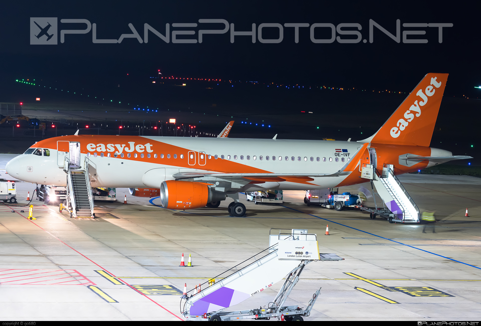 easyJet Europe Airbus A320-214 - OE-IVF #a320 #a320family #airbus #airbus320 #easyjet #easyjeteurope