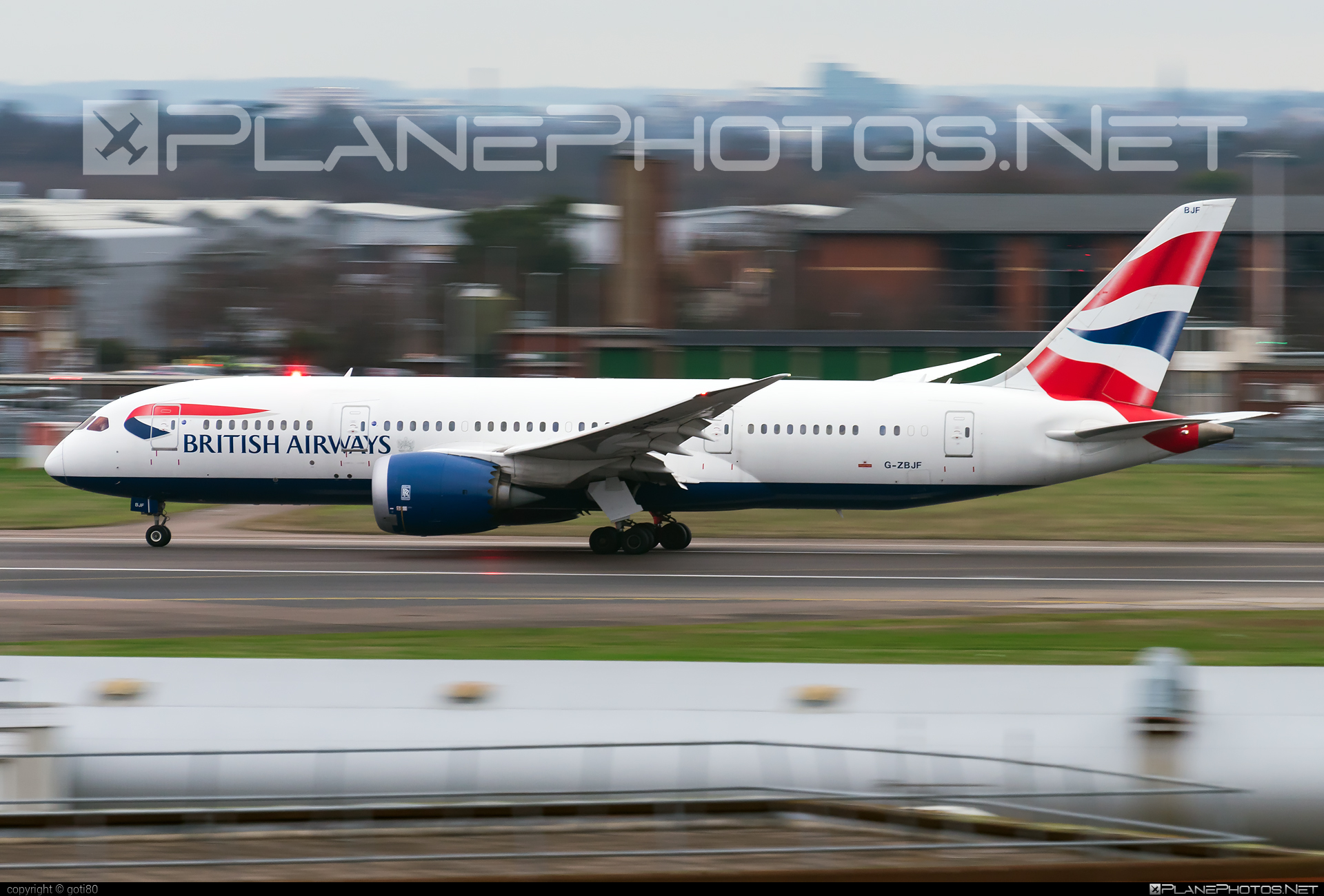 Boeing 787-8 Dreamliner - G-ZBJF operated by British Airways #b787 #boeing #boeing787 #britishairways #dreamliner