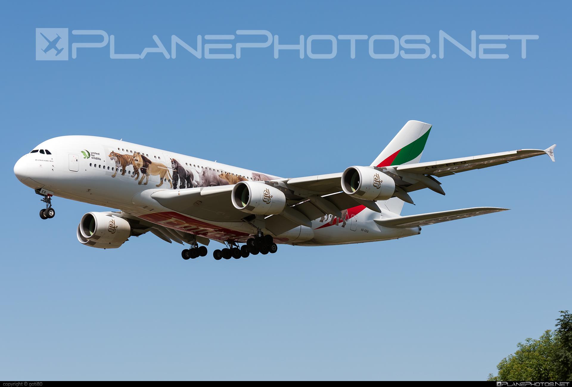 Airbus A380-861 - A6-EEQ operated by Emirates #a380 #a380family #airbus #airbus380 #emirates