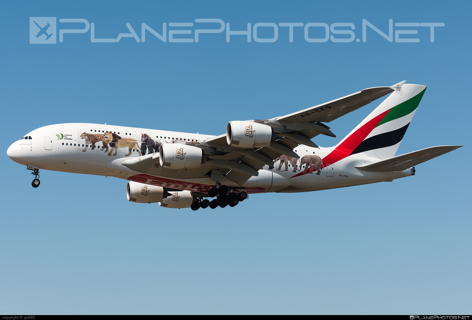 Emirates Airbus A380-861 - A6-EEQ #a380 #a380family #airbus #airbus380 #emirates