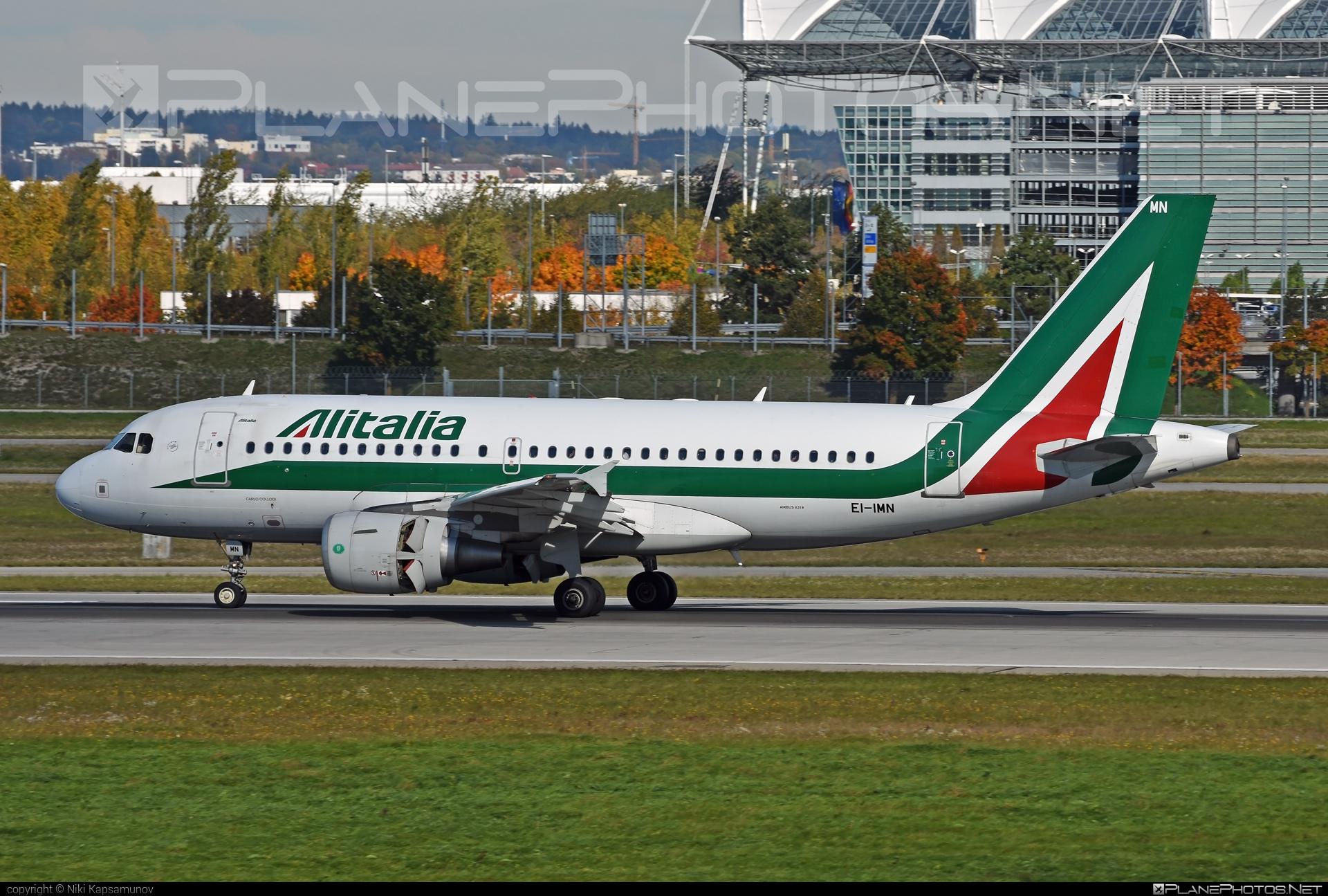Alitalia Airbus A319-111 - EI-IMN #a319 #a320family #airbus #airbus319 #alitalia