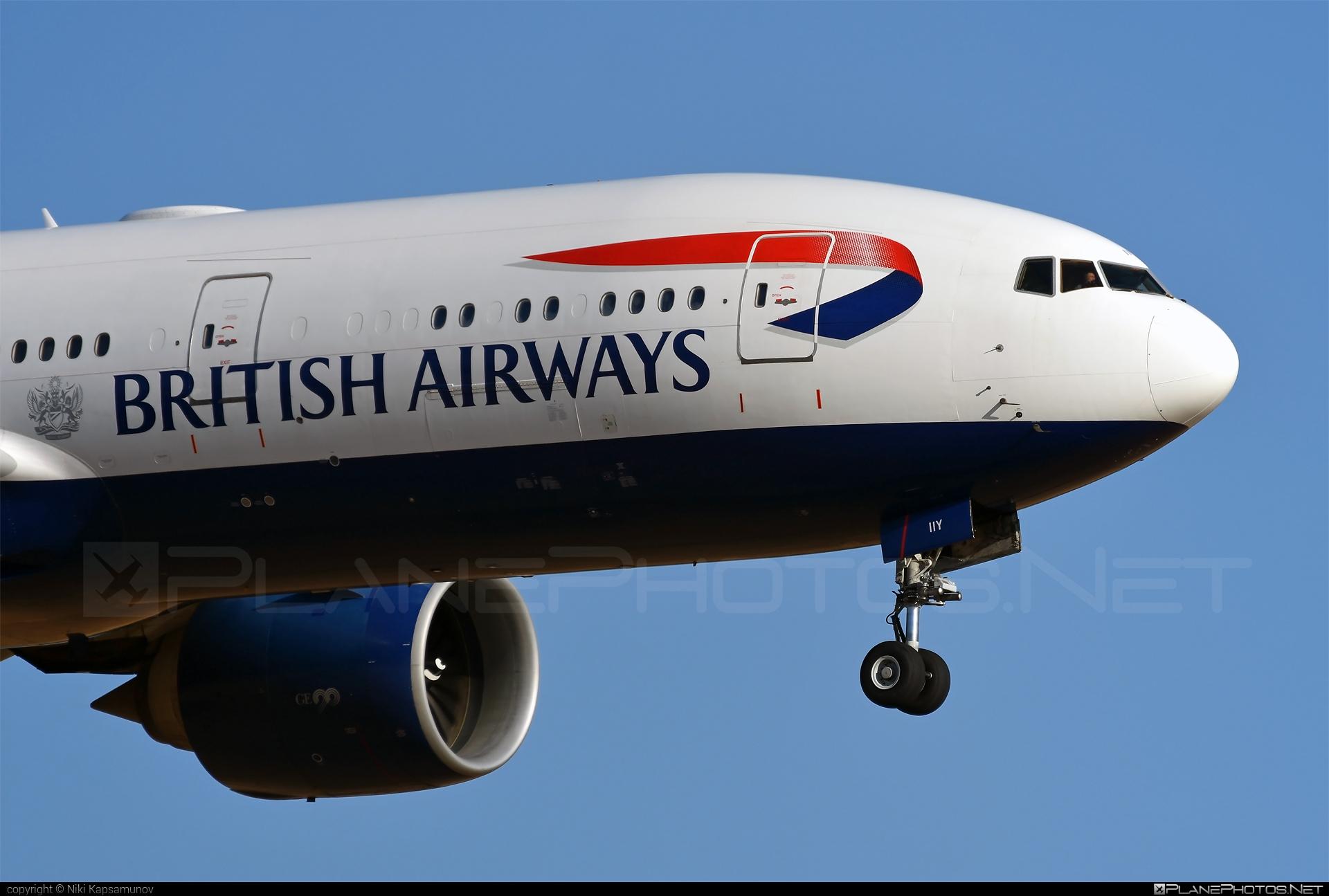 British Airways Boeing 777-200ER - G-VIIY #b777 #b777er #boeing #boeing777 #britishairways #tripleseven