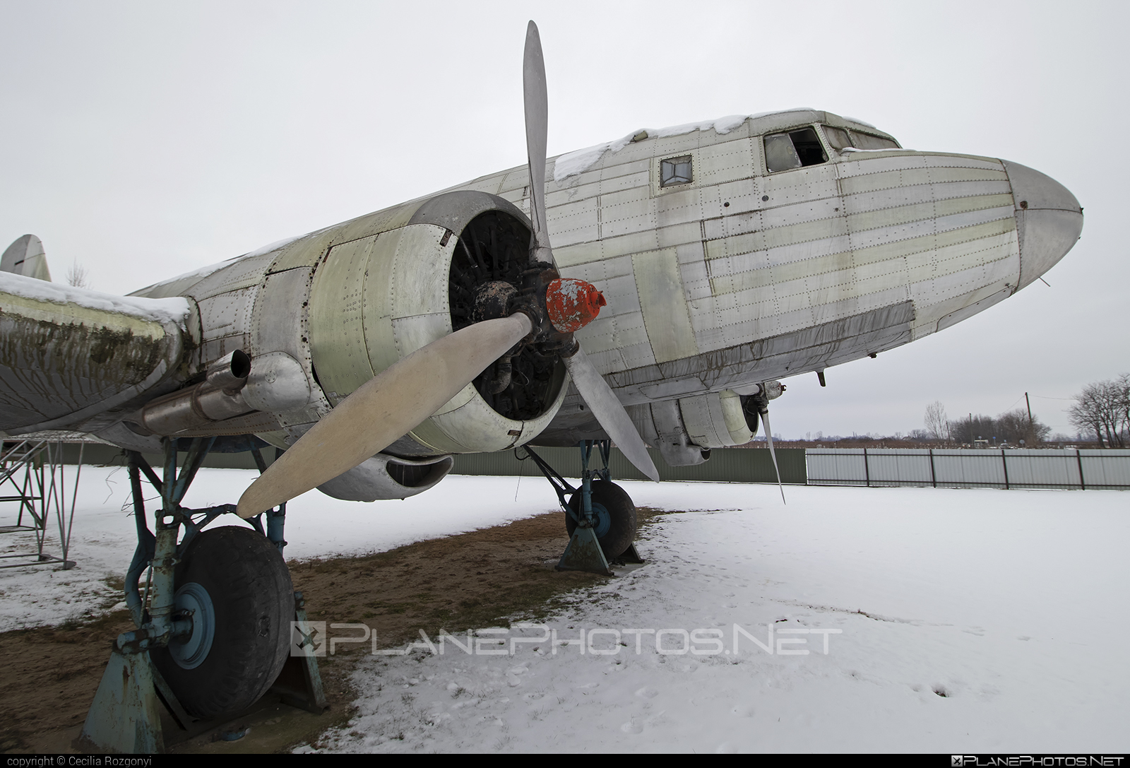 Lisunov Li-2P - HA-LIP operated by Private operator #lisunov