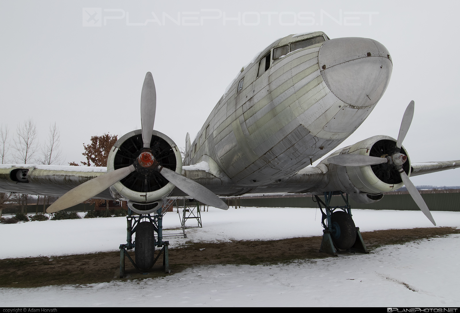 Lisunov Li-2P - HA-LIP operated by Private operator #lisunov