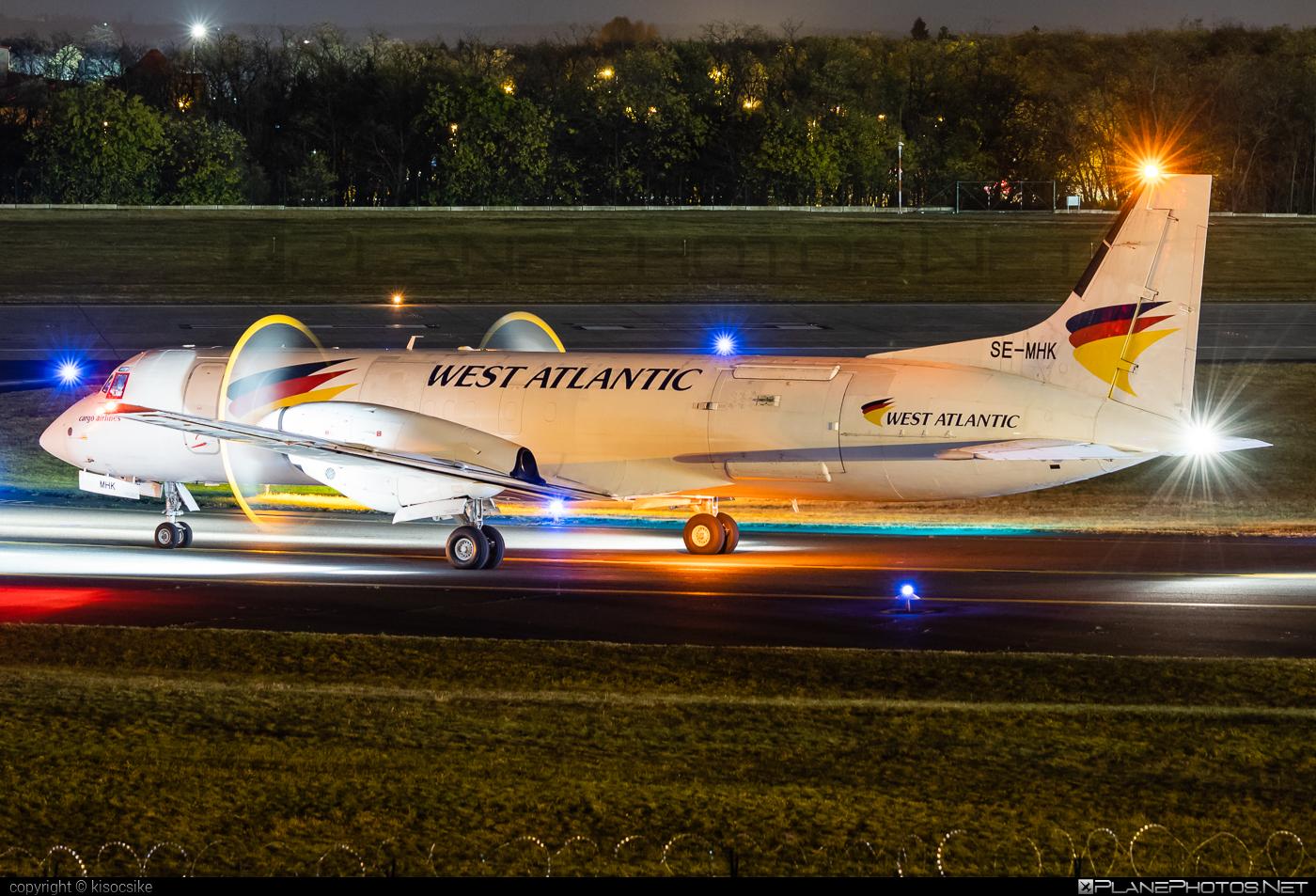 West Air Sweden British Aerospace ATP - SE-MHK #britishaerospace