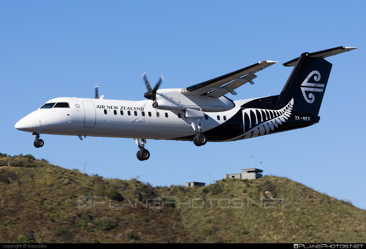 Bombardier DHC-8-311 Dash 8 - ZK-NER operated by Air New Zealand Link (Air Nelson) #bombardier