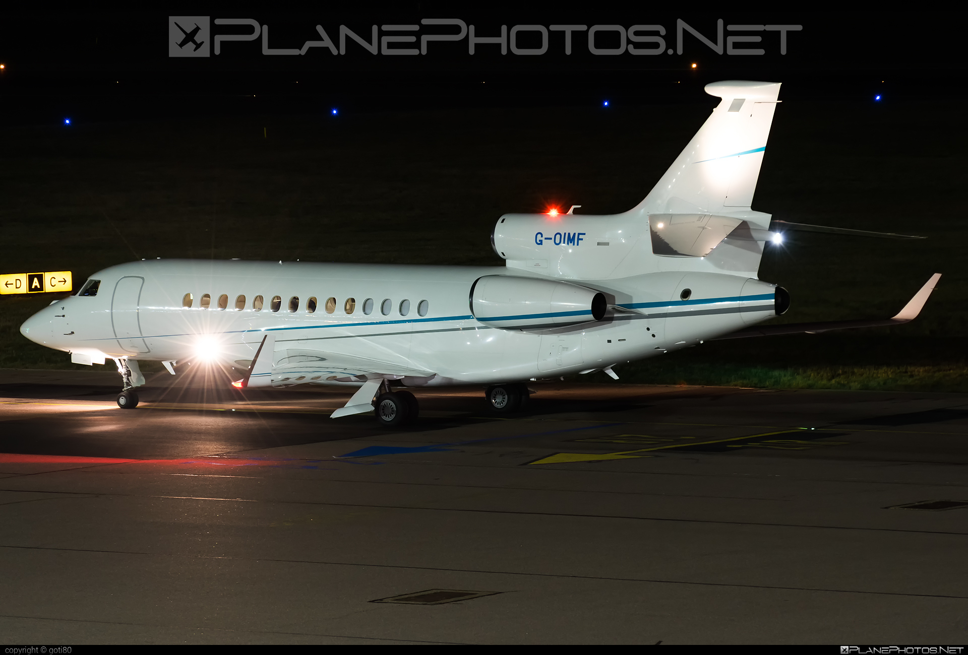 Dassault Falcon 7X - G-OIMF operated by TAG Aviation #dassault #dassaultfalcon #dassaultfalcon7x #falcon7x