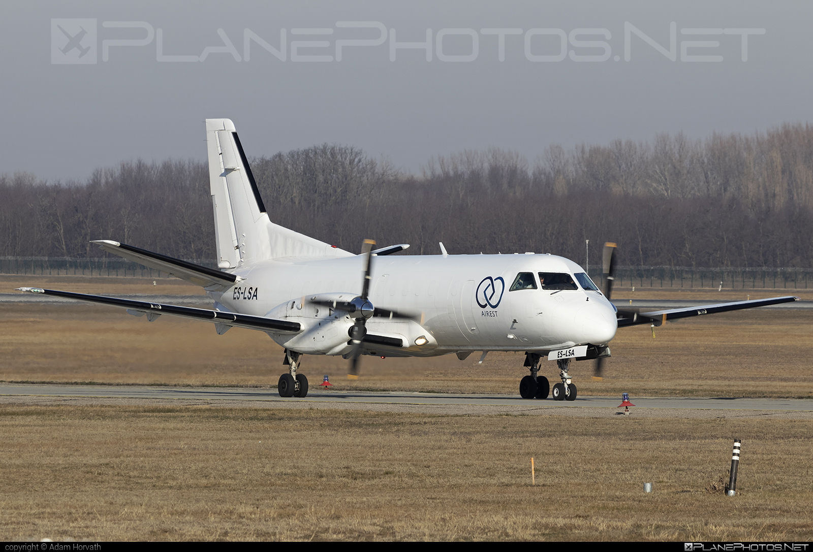 Saab 340A - ES-LSA operated by Airest #saab