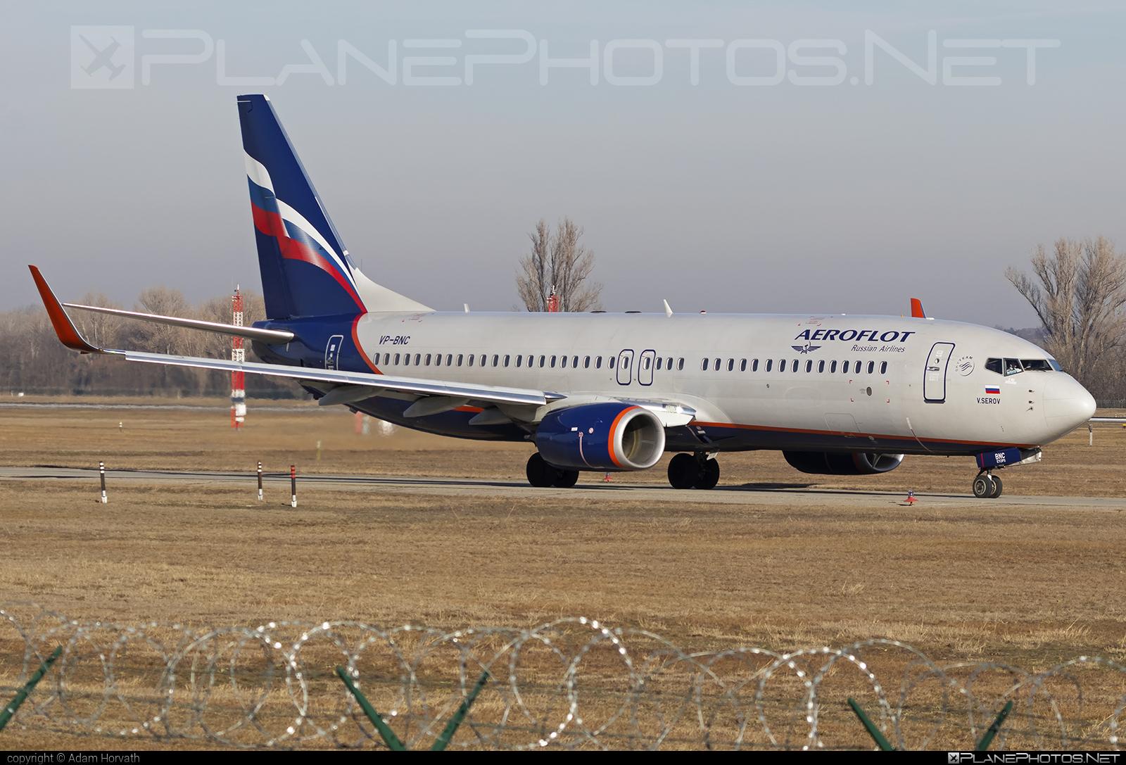 Boeing 737-800 - VP-BNC operated by Aeroflot #aeroflot #b737 #b737nextgen #b737ng #boeing #boeing737