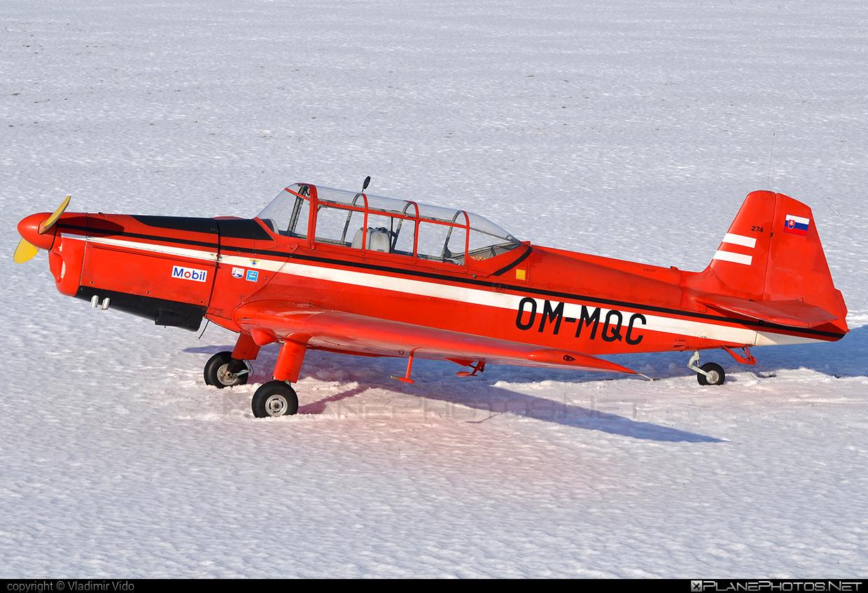 Zlin Z-226MS Trenér - OM-MQC operated by Aeroklub Trenčín #z226 #z226trener #zlin #zlin226 #zlintrener