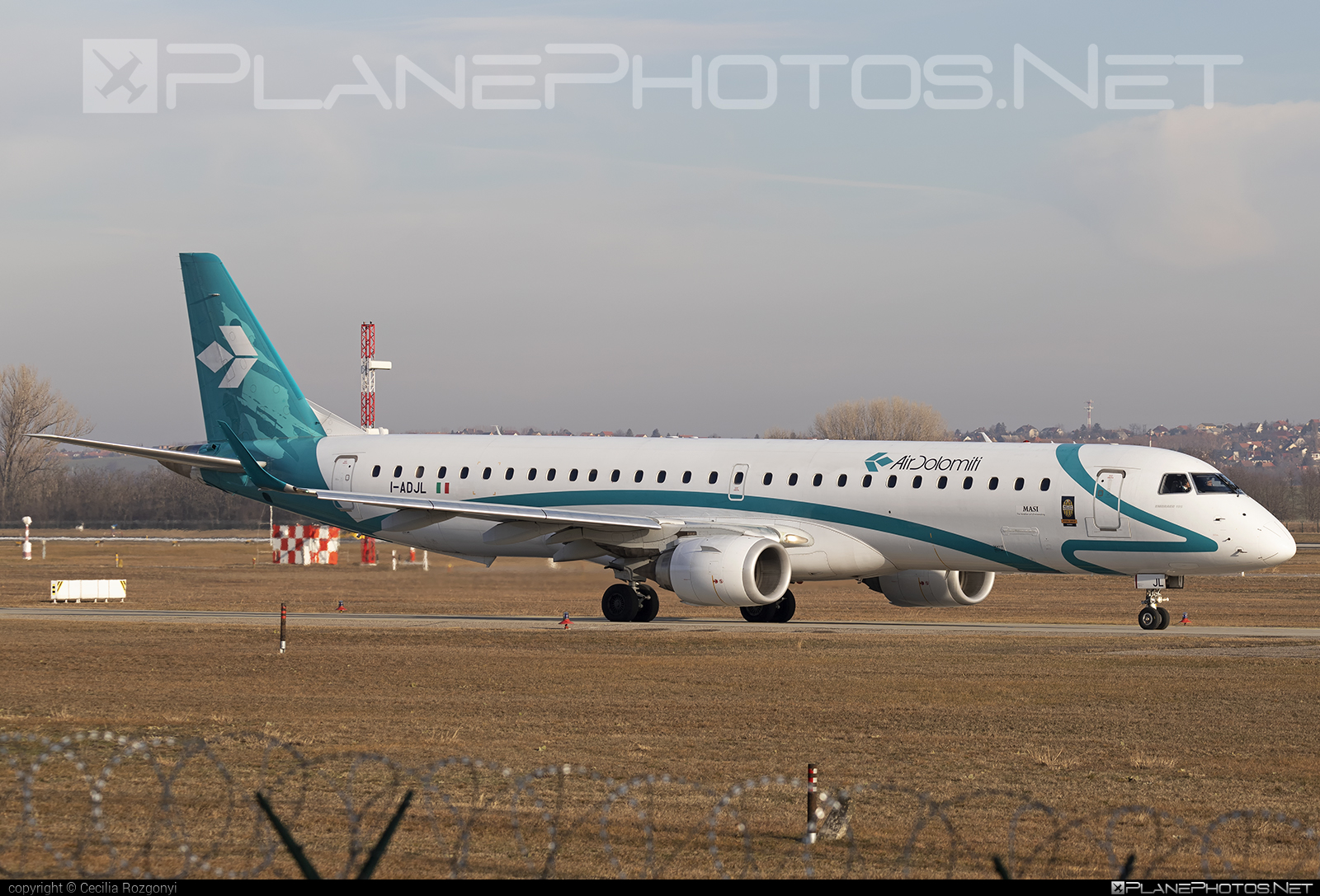 Embraer 190-200LR - I-ADJL operated by Air Dolomiti #airdolomiti #e195 #embraer #embraer195 #embraer195lr