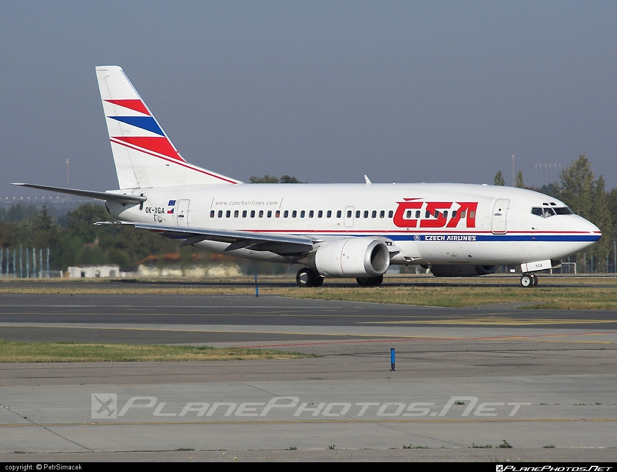 Boeing 737-500 - OK-XGA operated by CSA Czech Airlines #b737 #boeing #boeing737 #csa #czechairlines