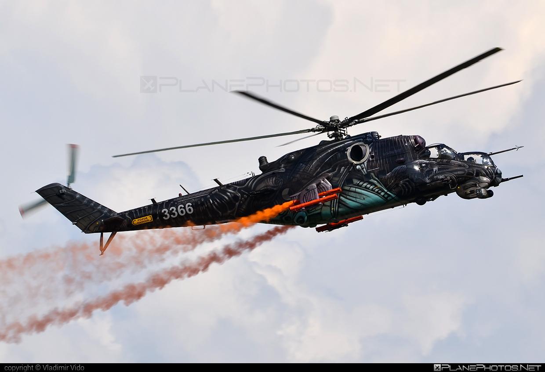 Mil Mi-35 - 3366 operated by Vzdušné síly AČR (Czech Air Force) #czechairforce #mi35 #mil #milhelicopters #vzdusnesilyacr
