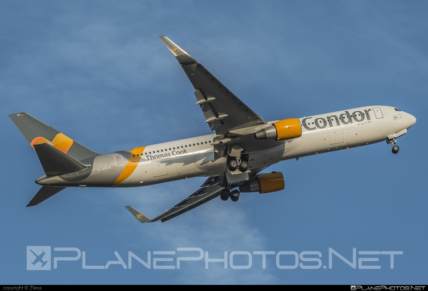 Boeing 767-300ER - D-ABUD operated by Condor #b767 #b767er #boeing #boeing767