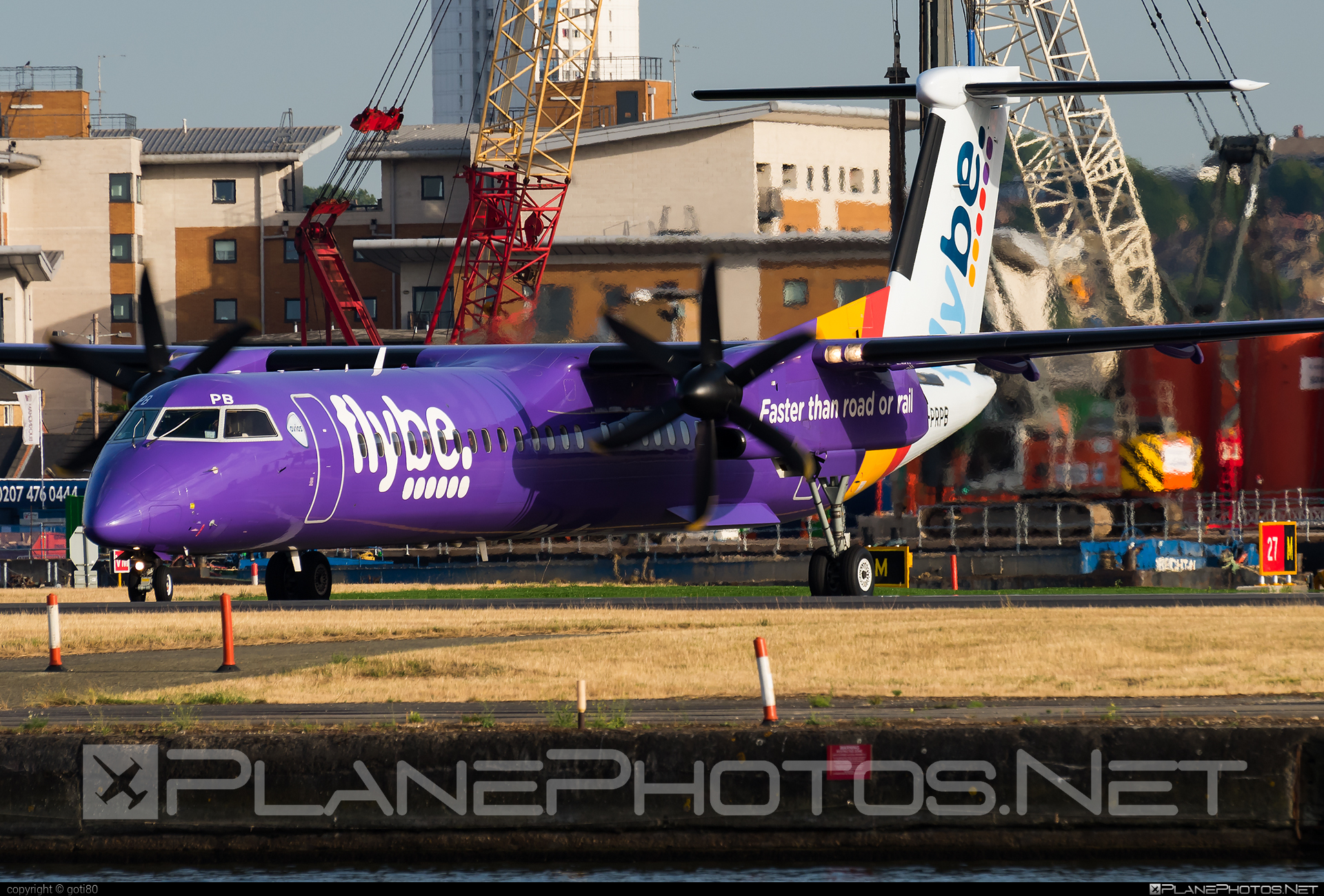 Bombardier DHC-8-Q402 Dash 8 - G-PRPB operated by Flybe #bombardier