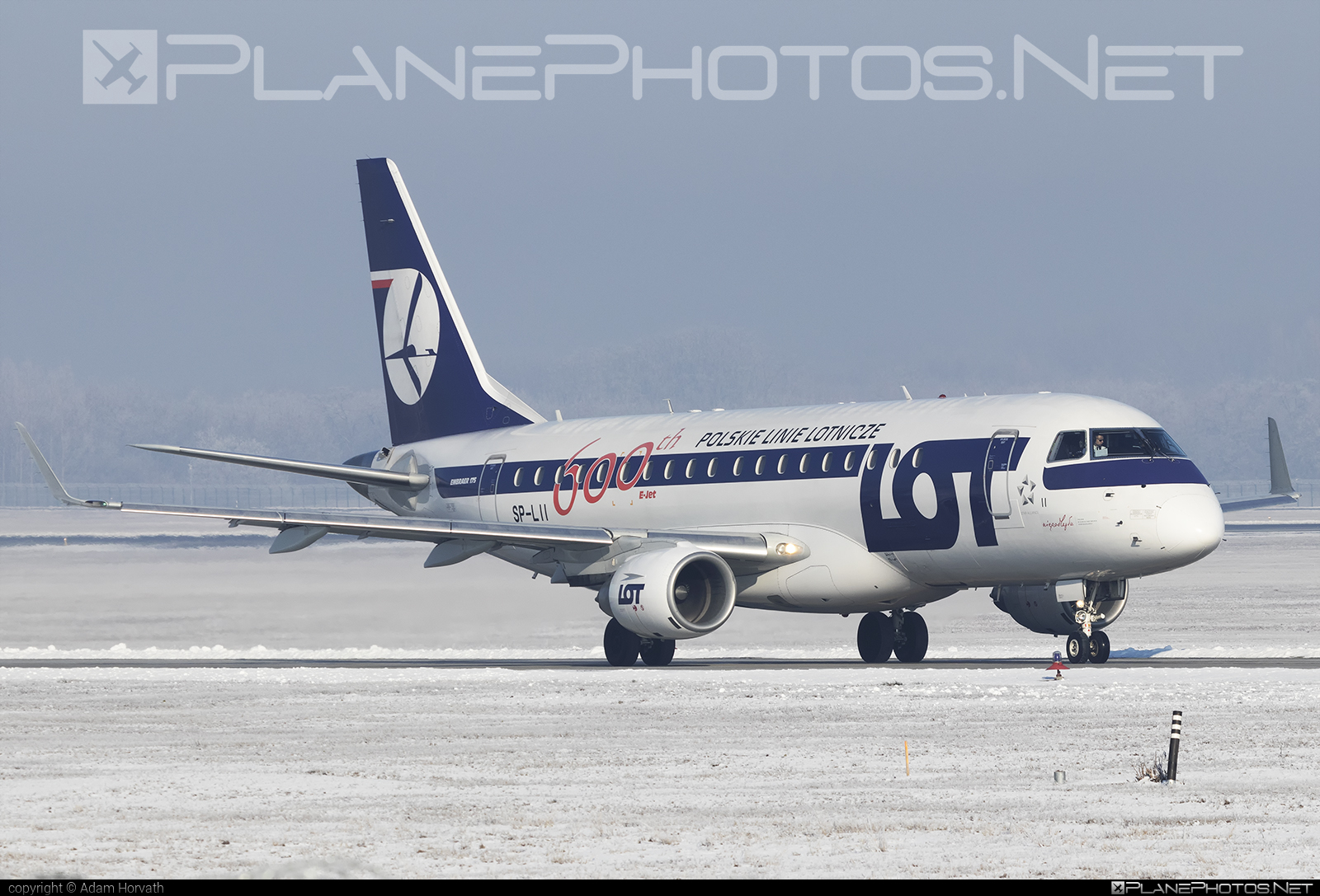 Embraer E175LR (ERJ-170-200LR) - SP-LII operated by LOT Polish Airlines #e175 #embraer #embraer175 #embraer175lr #erj170200 #erj170200lr #erj175 #erj175lr #lot #lotpolishairlines