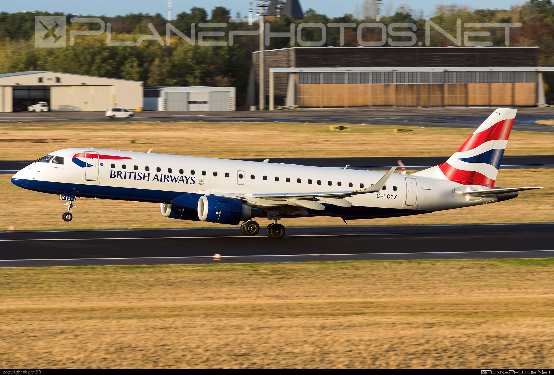 Embraer E190SR (ERJ-190-100SR) - G-LCYX operated by BA CityFlyer #e190 #e190100 #e190100sr #e190sr #embraer #embraer190 #embraer190100sr #embraer190sr