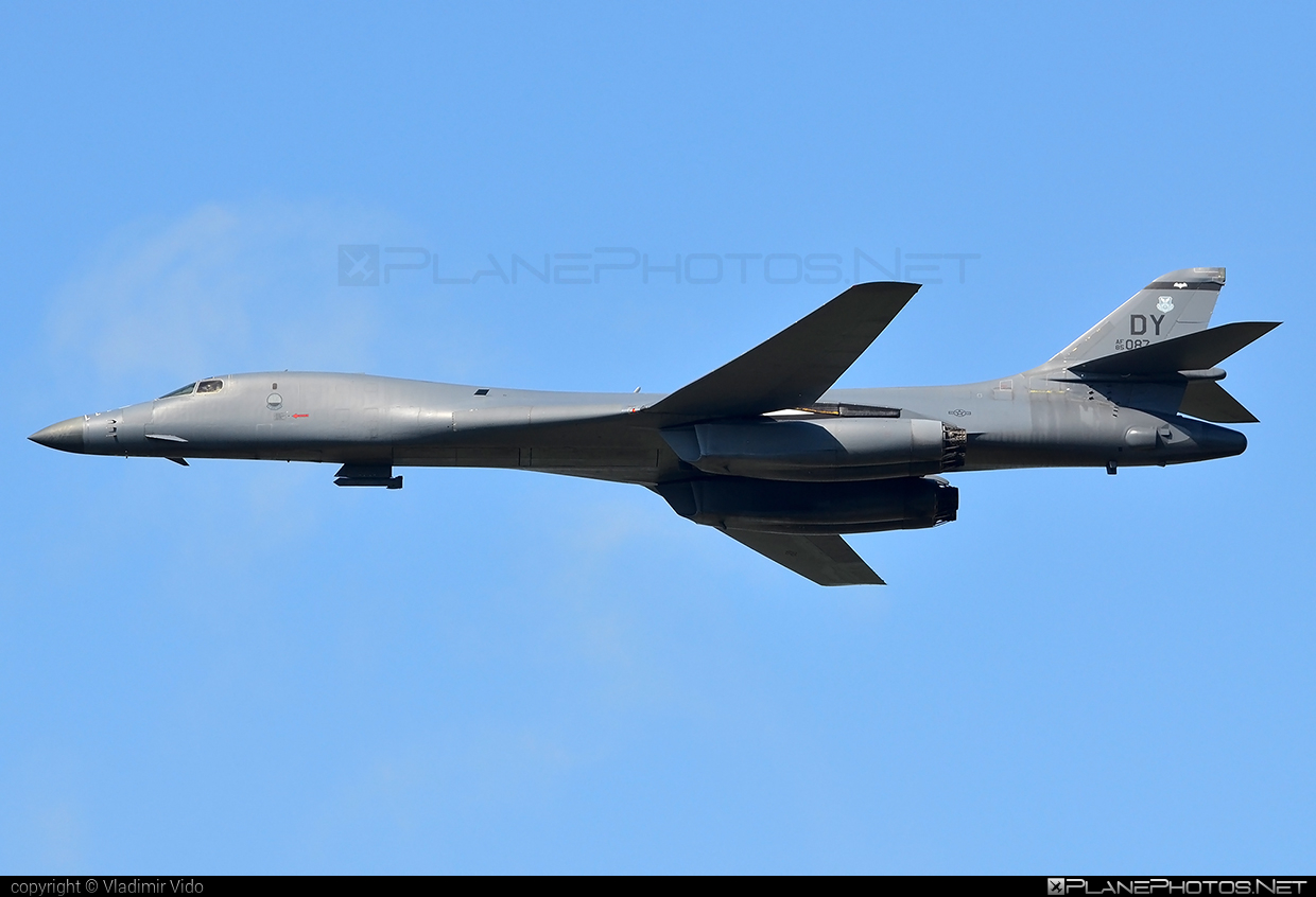Rockwell B-1B Lancer - 85-0087 operated by US Air Force (USAF) #rockwell #usaf #usairforce