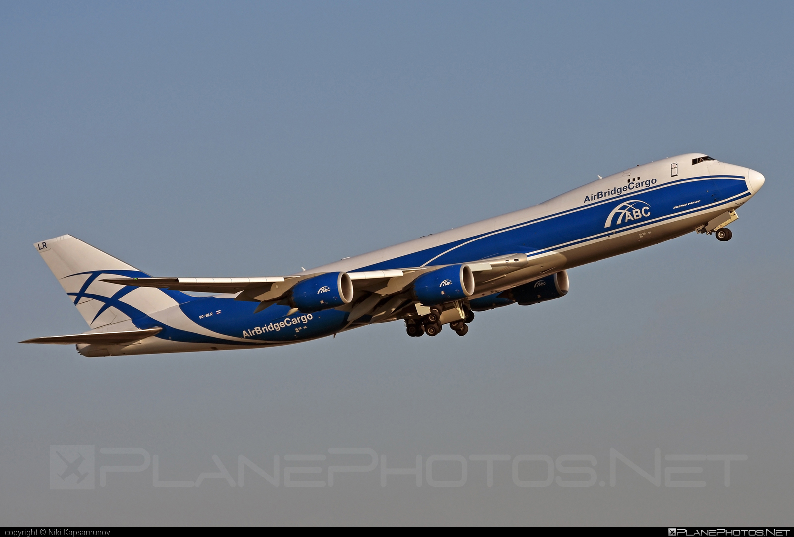 Boeing 747-8F - VQ-BLR operated by AirBridgeCargo #airbridgecargo #b747 #b747f #b747freighter #boeing #boeing747 #jumbo