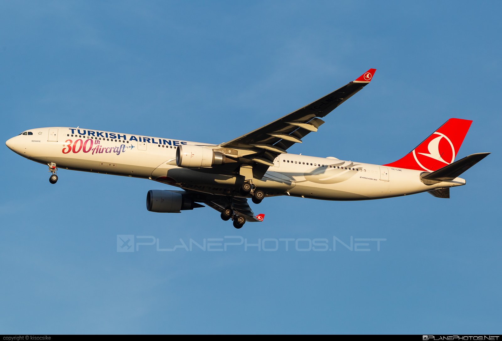 Airbus A330-303 - TC-LNC operated by Turkish Airlines #a330 #a330family #airbus #airbus330 #turkishairlines