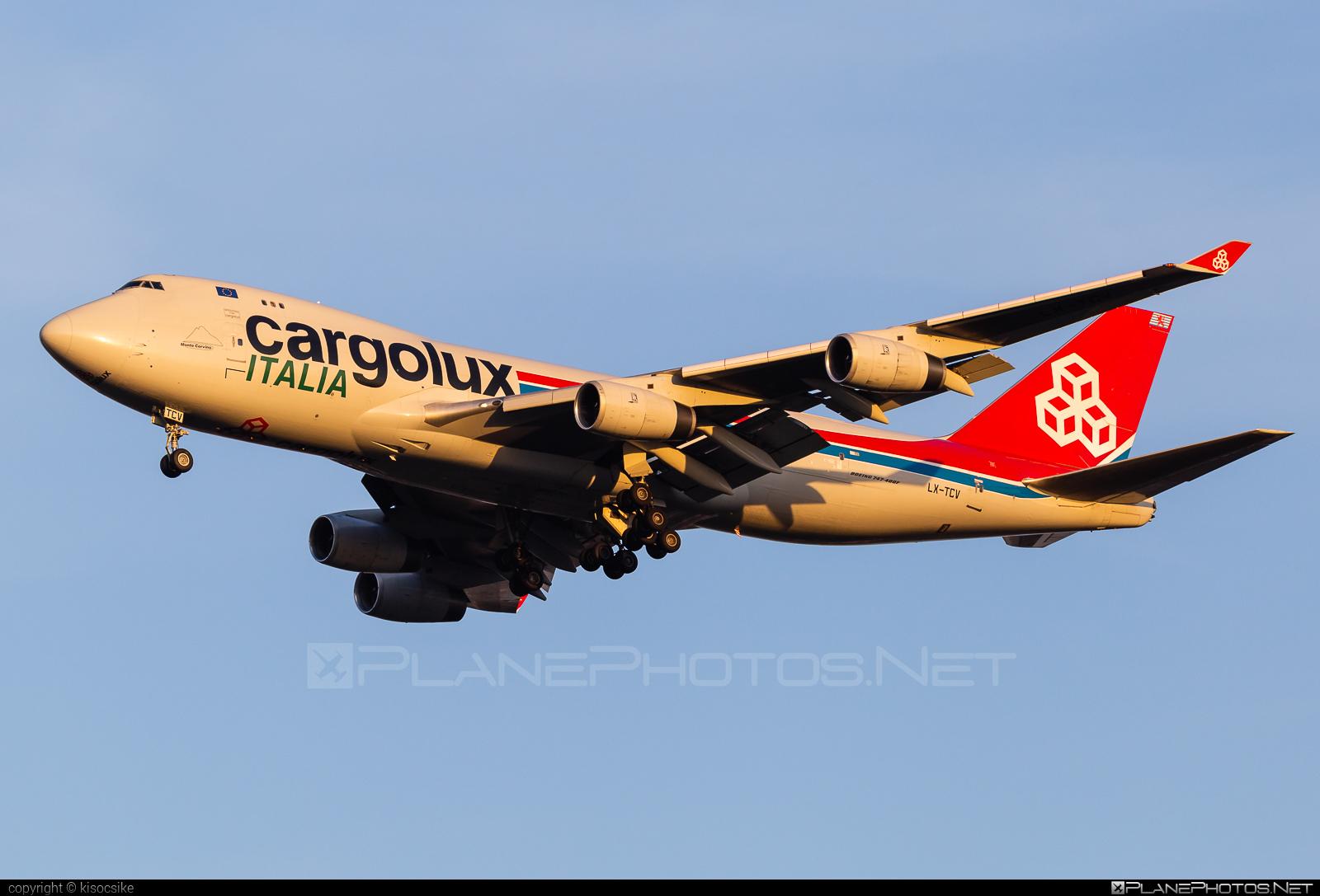 Boeing 747-400F - LX-TCV operated by Cargolux Italia #b747 #boeing #boeing747 #cargolux #cargoluxitalia #jumbo