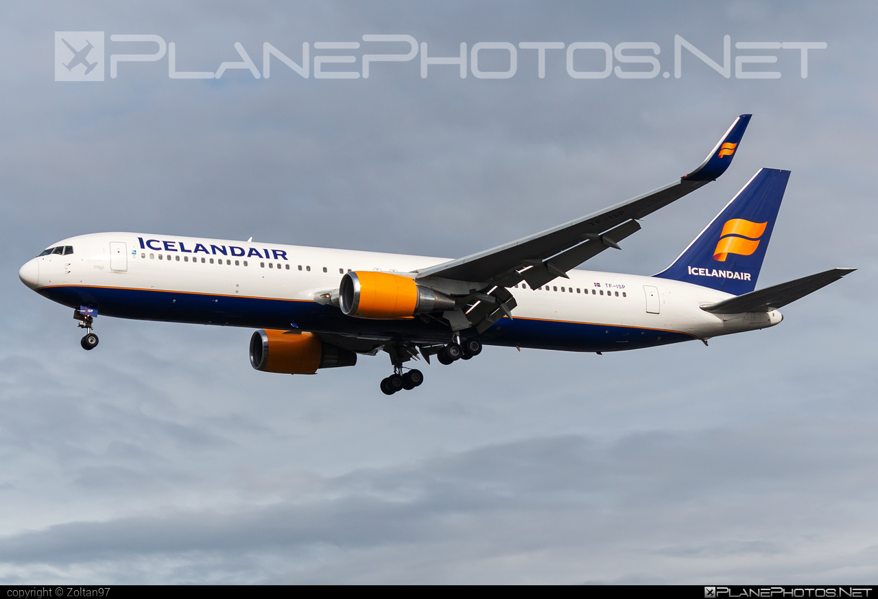 Boeing 767-300ER - TF-ISP operated by Icelandair #b767 #b767er #boeing #boeing767 #icelandair