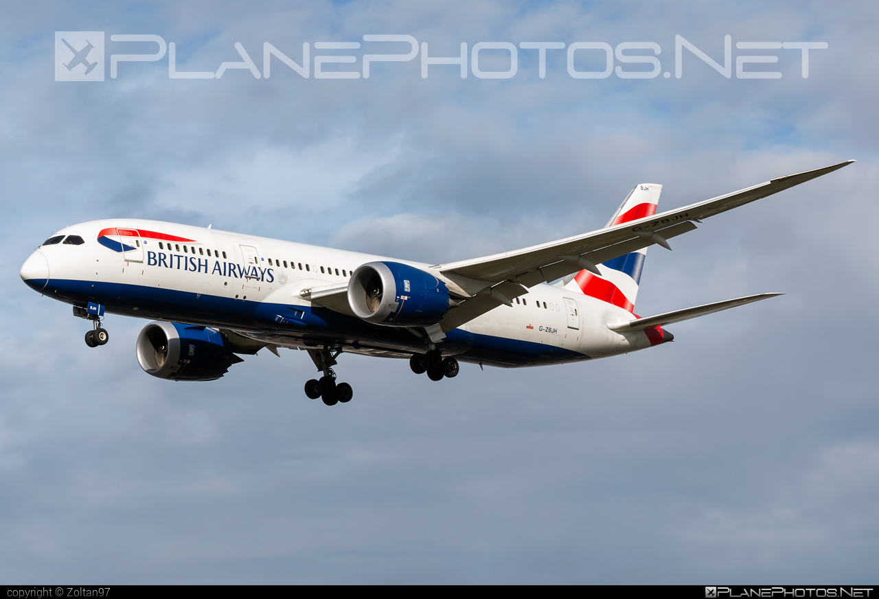 Boeing 787-8 Dreamliner - G-ZBJH operated by British Airways #b787 #boeing #boeing787 #britishairways #dreamliner