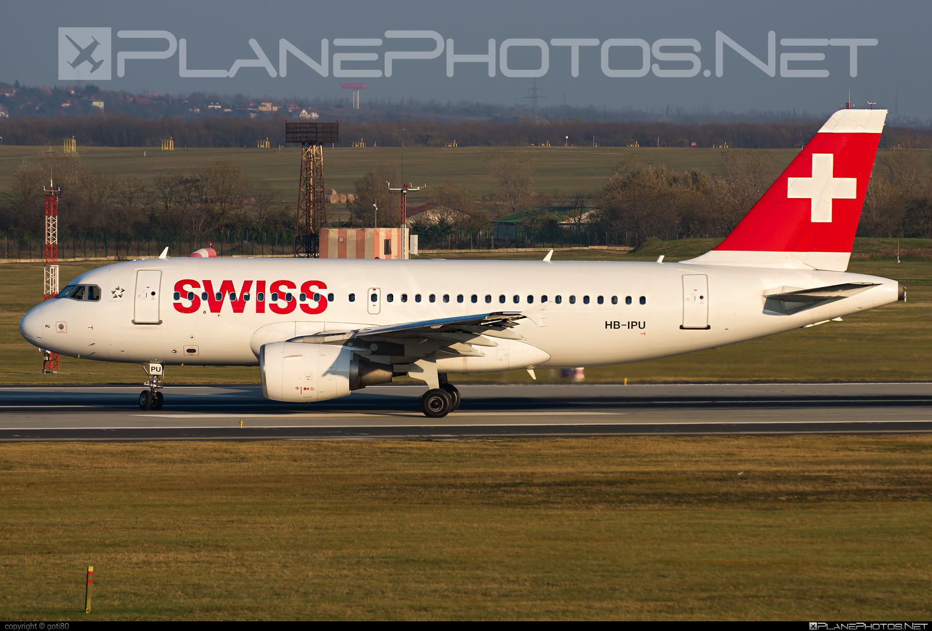 Airbus A319-112 - HB-IPU operated by Swiss International Air Lines #a319 #a320family #airbus #airbus319 #swiss #swissairlines