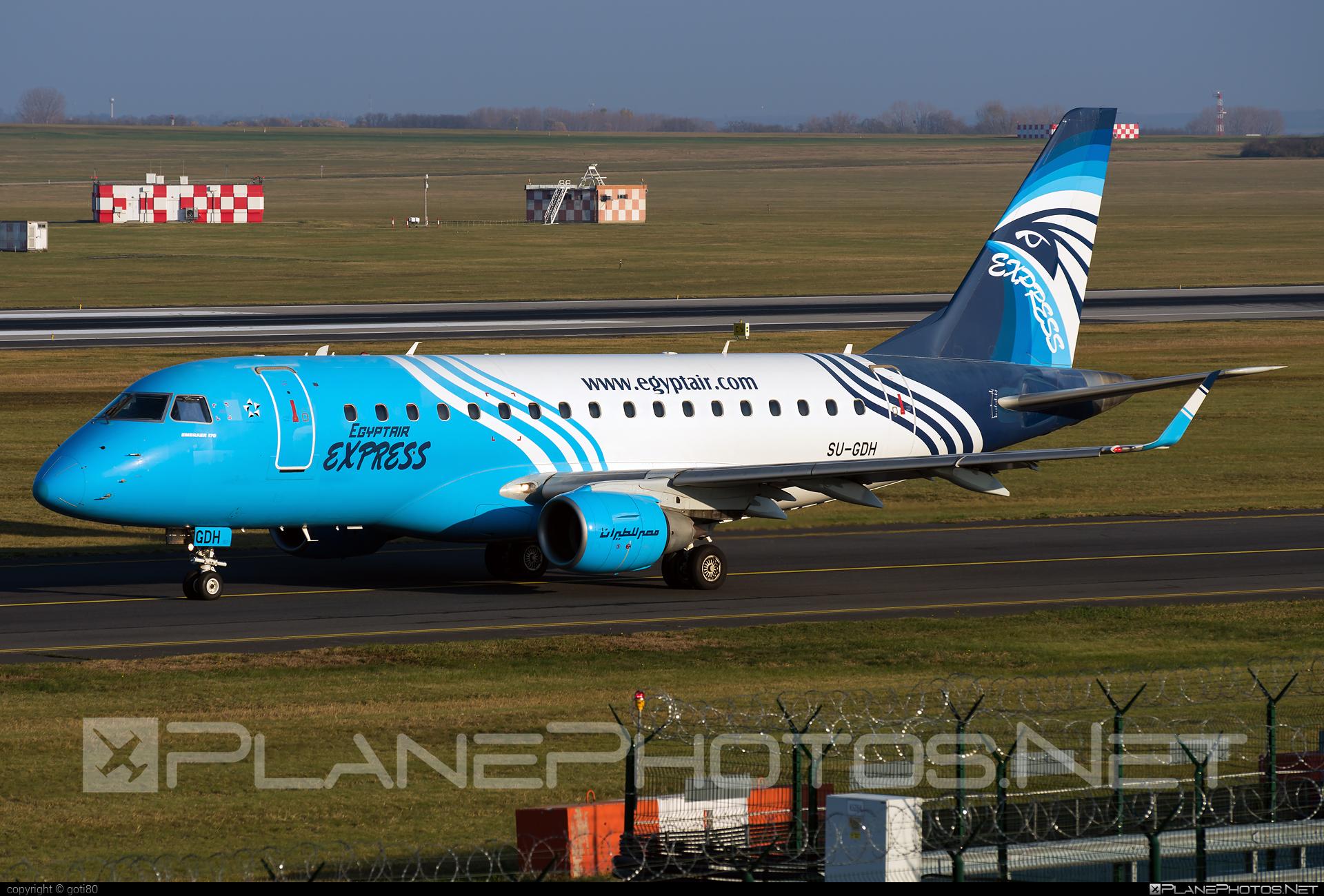 Embraer E170LR (ERJ-170-100LR) - SU-GDH operated by EgyptAir Express #e170 #embraer #embraer170 #embraer170lr #erj170 #erj170100 #erj170100lr #erj170lr