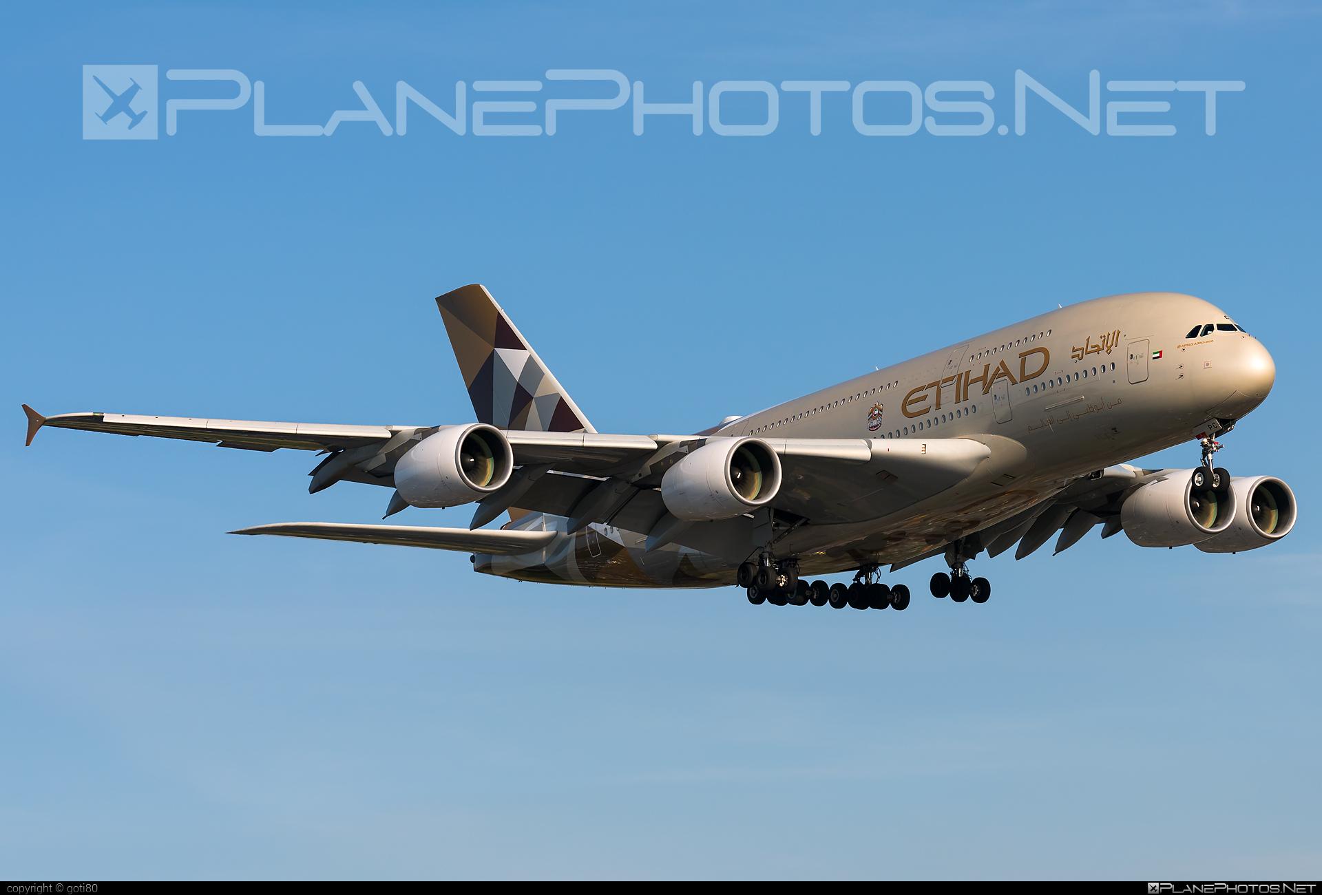 Airbus A380-861 - A6-APC operated by Etihad Airways #a380 #a380family #airbus #airbus380 #etihad #etihadairways