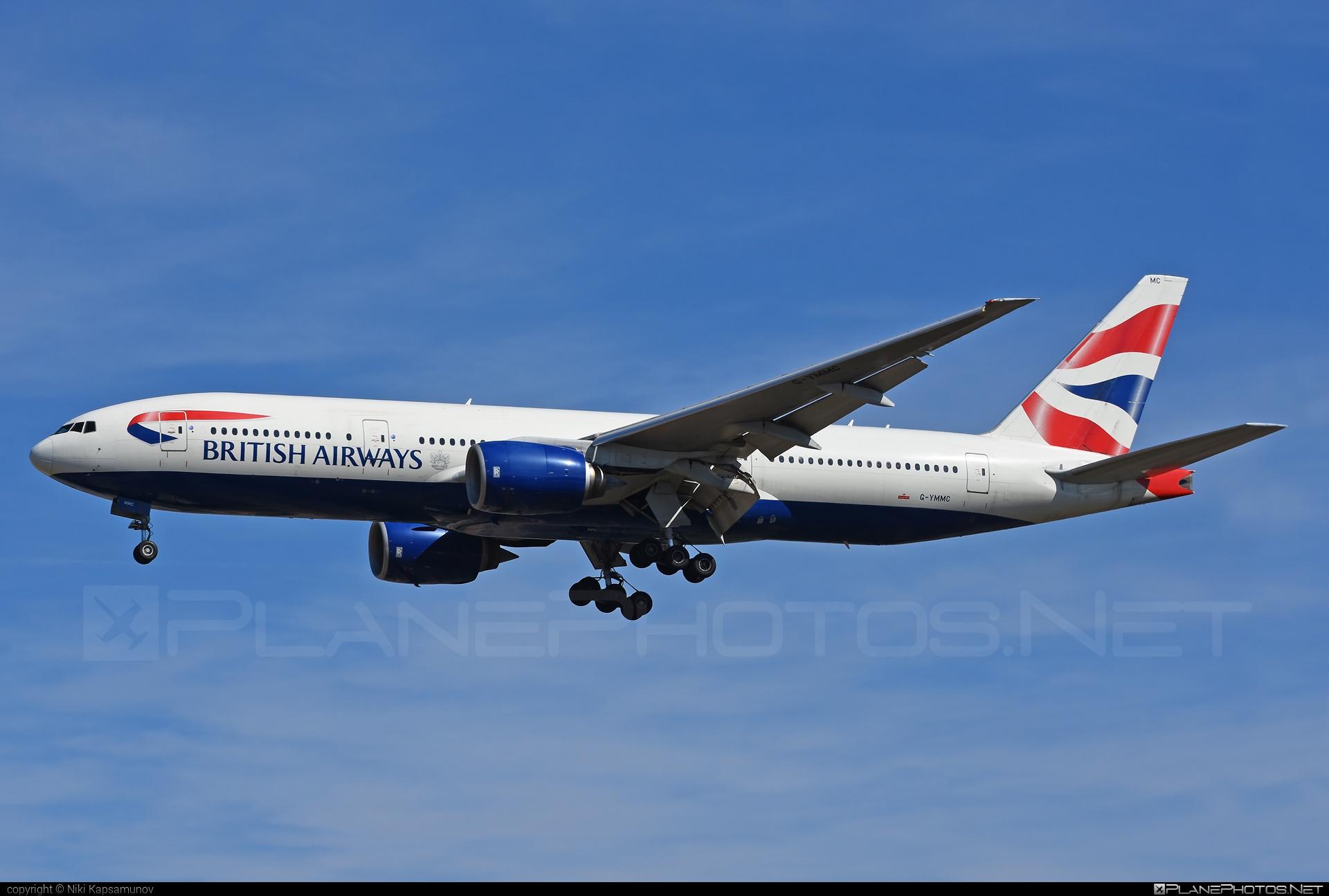 Boeing 777-200ER - G-YMMC operated by British Airways #b777 #b777er #boeing #boeing777 #britishairways #tripleseven