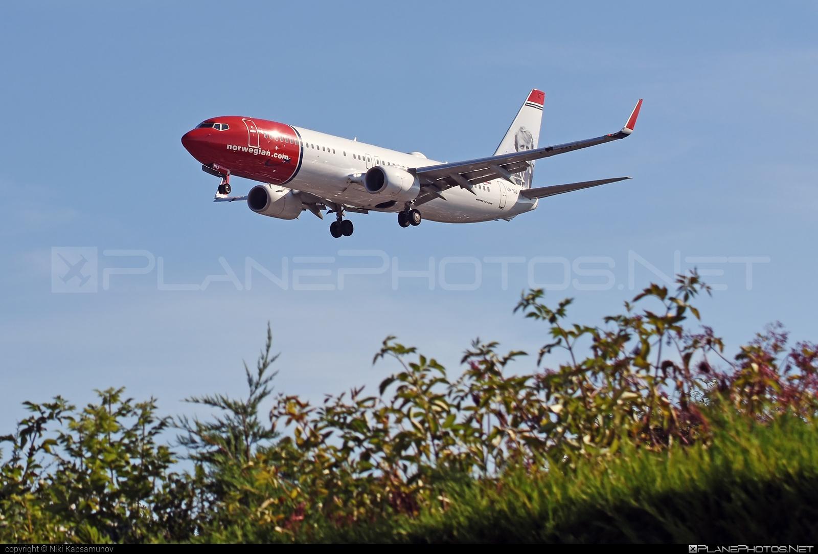 Boeing 737-800 - LN-NIJ operated by Norwegian Air Shuttle #b737 #b737nextgen #b737ng #boeing #boeing737 #norwegian #norwegianair #norwegianairshuttle