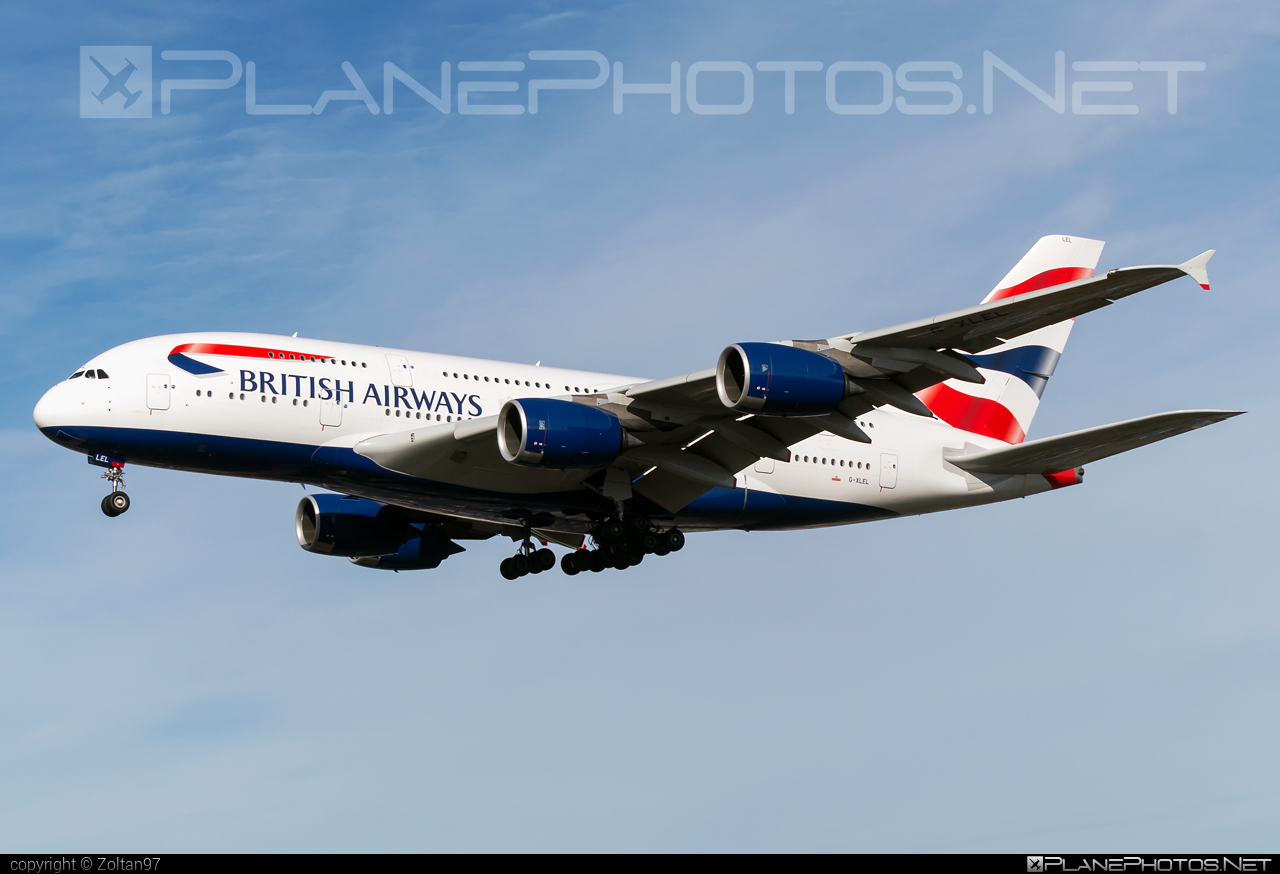 Airbus A380-841 - G-XLEL operated by British Airways #a380 #a380family #airbus #airbus380 #britishairways