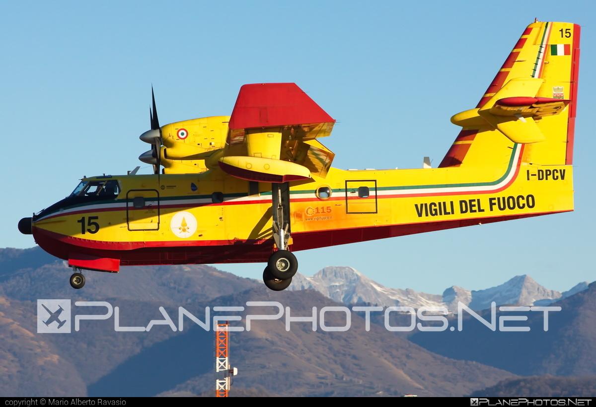Bombardier CL-415 - I-DPCV operated by Corpo nazionale dei vigili del Fuoco (Italian National Firefighters Corps) #bombardier #bombardier415 #bombardiercl415 #cl415 #corponazionaledeivigilidelfuoco #italiannationalfirefighterscorps #vigilidelfuoco