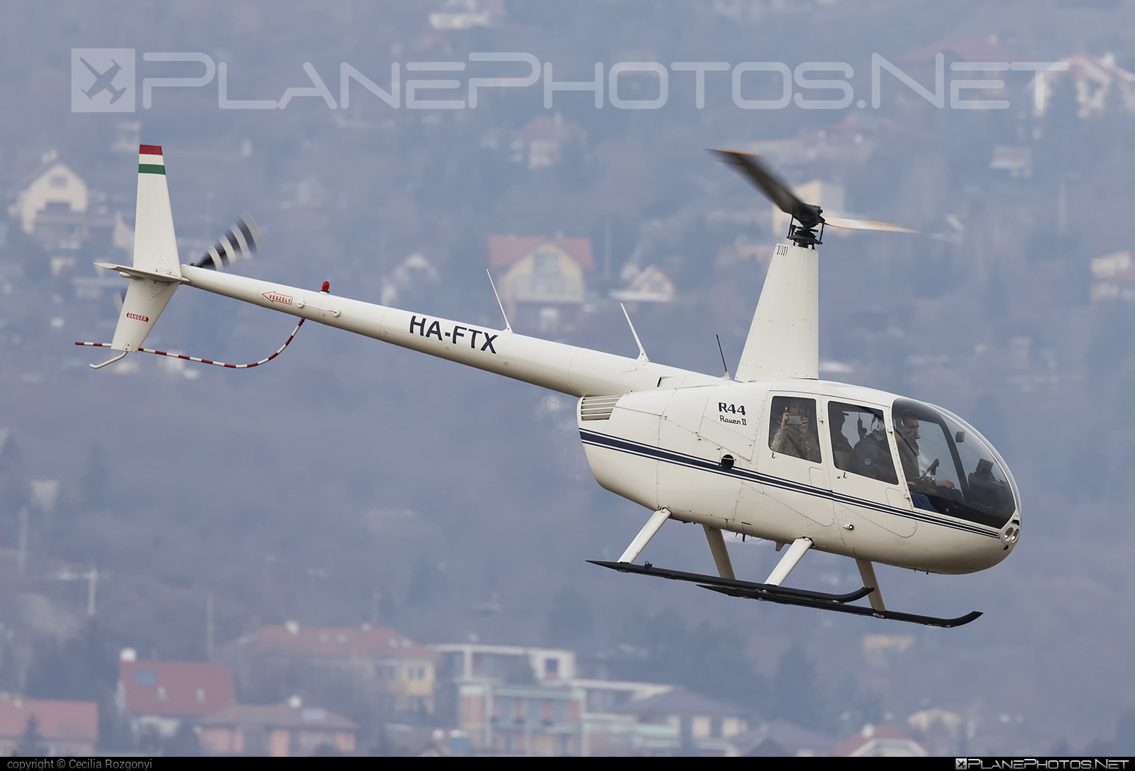 Robinson R44 Raven II - HA-FTX operated by Fly-Coop #robinson