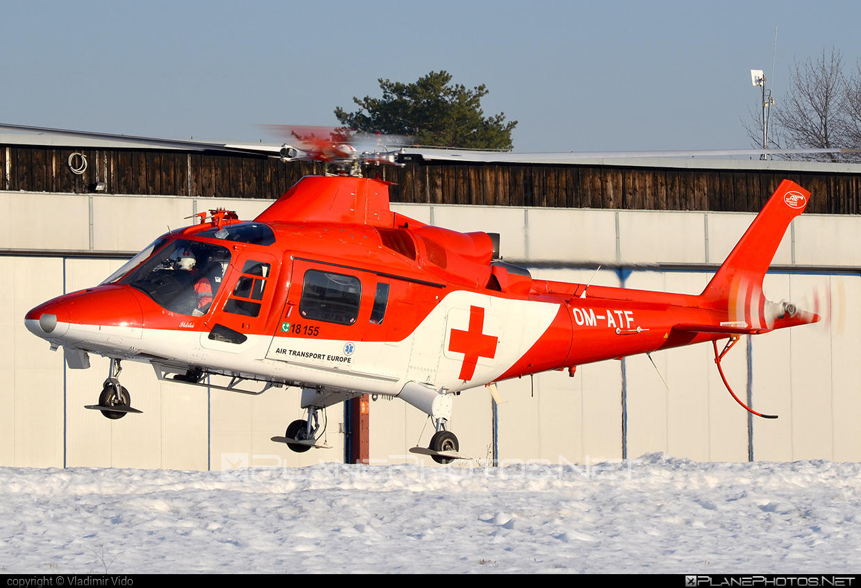 Agusta A109K2 - OM-ATF operated by Air Transport Europe #a109 #a109k2 #agusta #agusta109 #agustaa109 #agustaa109k2 #airtransporteurope