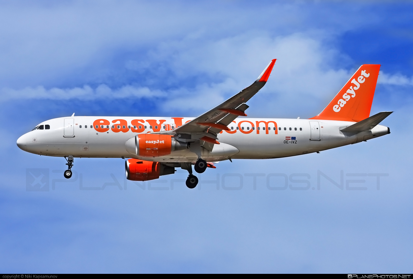 Airbus A320-214 - OE-IVZ operated by easyJet Europe #a320 #a320family #airbus #airbus320 #easyjet #easyjeteurope