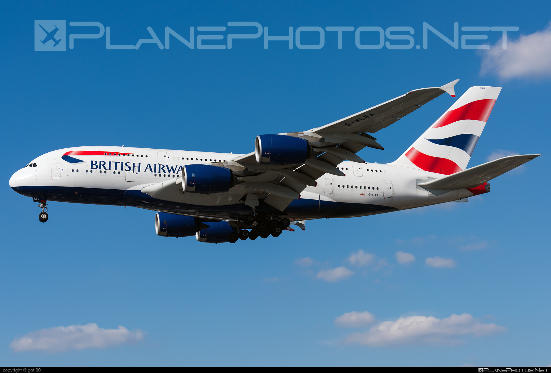 Airbus A380-841 - G-XLEA operated by British Airways #a380 #a380family #airbus #airbus380 #britishairways