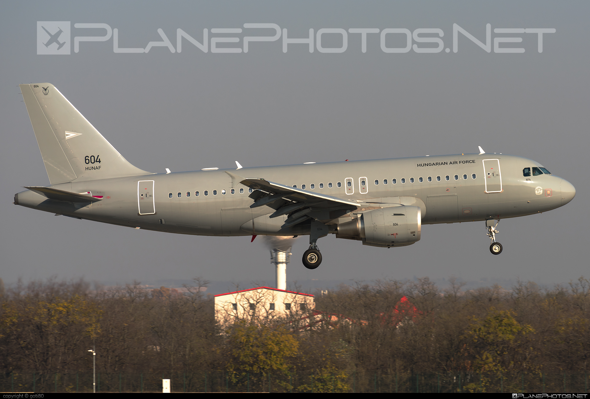 Airbus A319-112 - 604 operated by Magyar Légierő (Hungarian Air Force) #a319 #a320family #airbus #airbus319 #hungarianairforce #magyarlegiero
