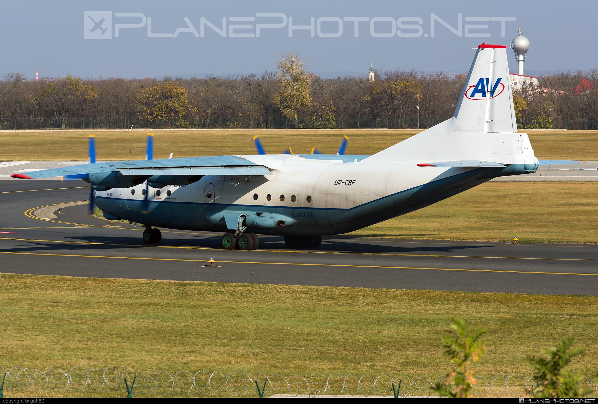 Antonov An-12A - UR-CBF operated by Aerovis Airlines #an12 #an12a #antonov #antonov12