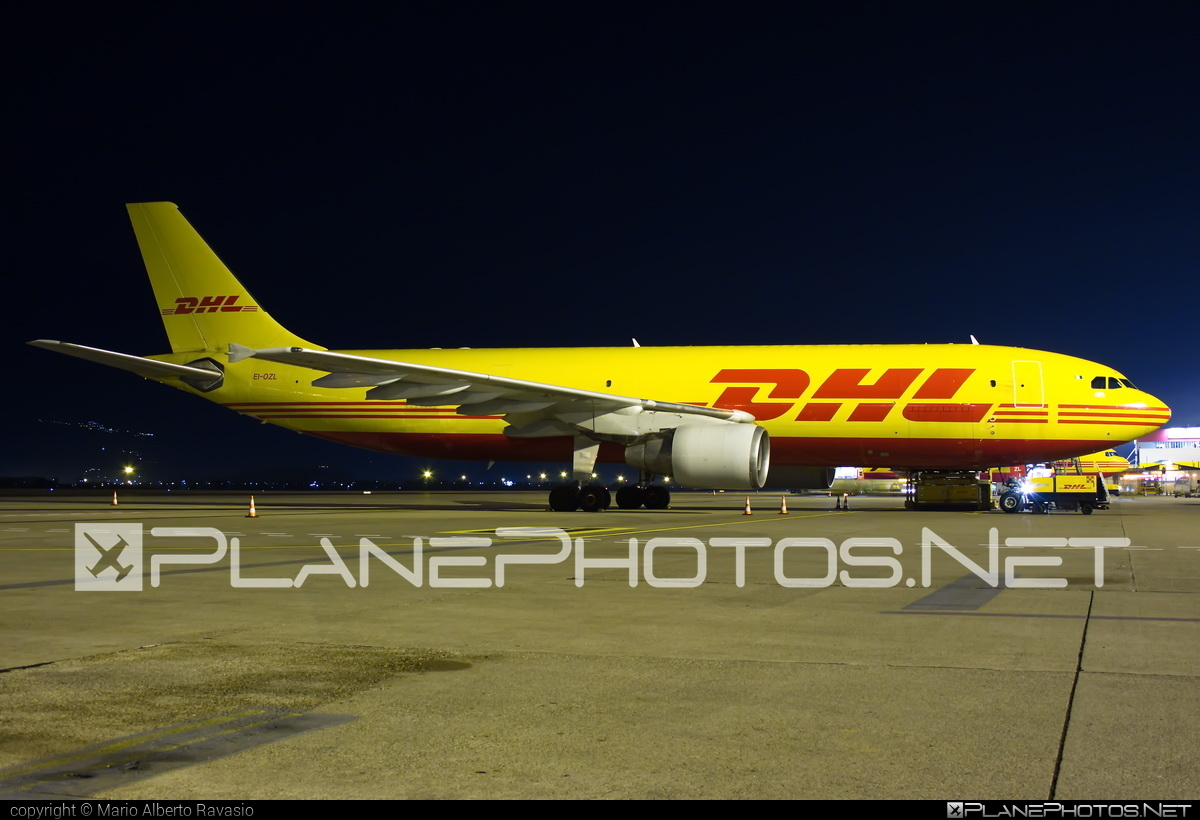 ASL Airlines Ireland Airbus A300B4-622RF - EI-OZL #a300 #airbus #aslairlines #aslairlinesireland #dhl