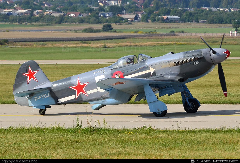 Private operator Yakovlev Yak-3UA - D-FYGJ #yak #yak3 #yak3ua #yakovlev