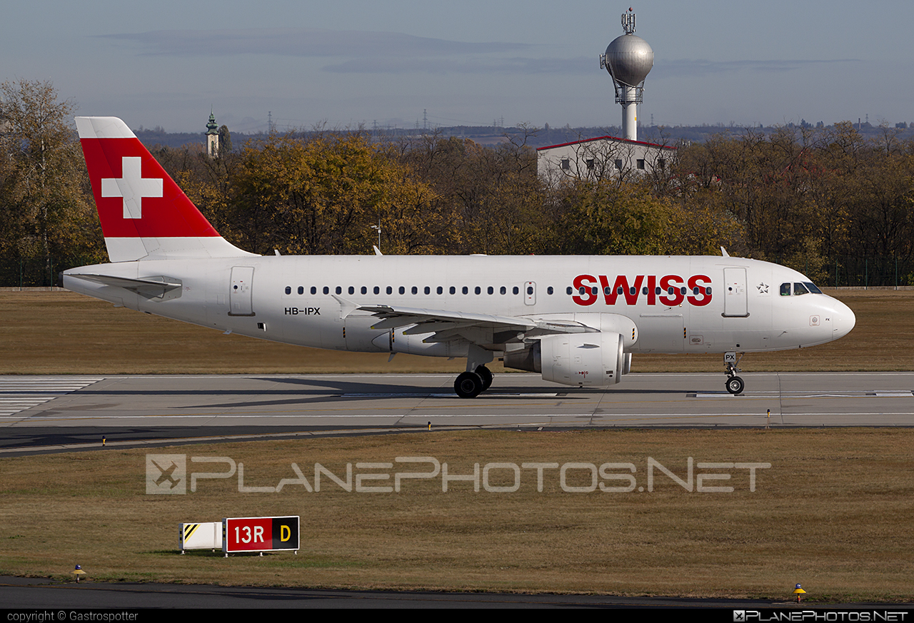 Swiss International Air Lines Airbus A319-111 - HB-IPX #a319 #a320family #airbus #airbus319 #swiss #swissairlines