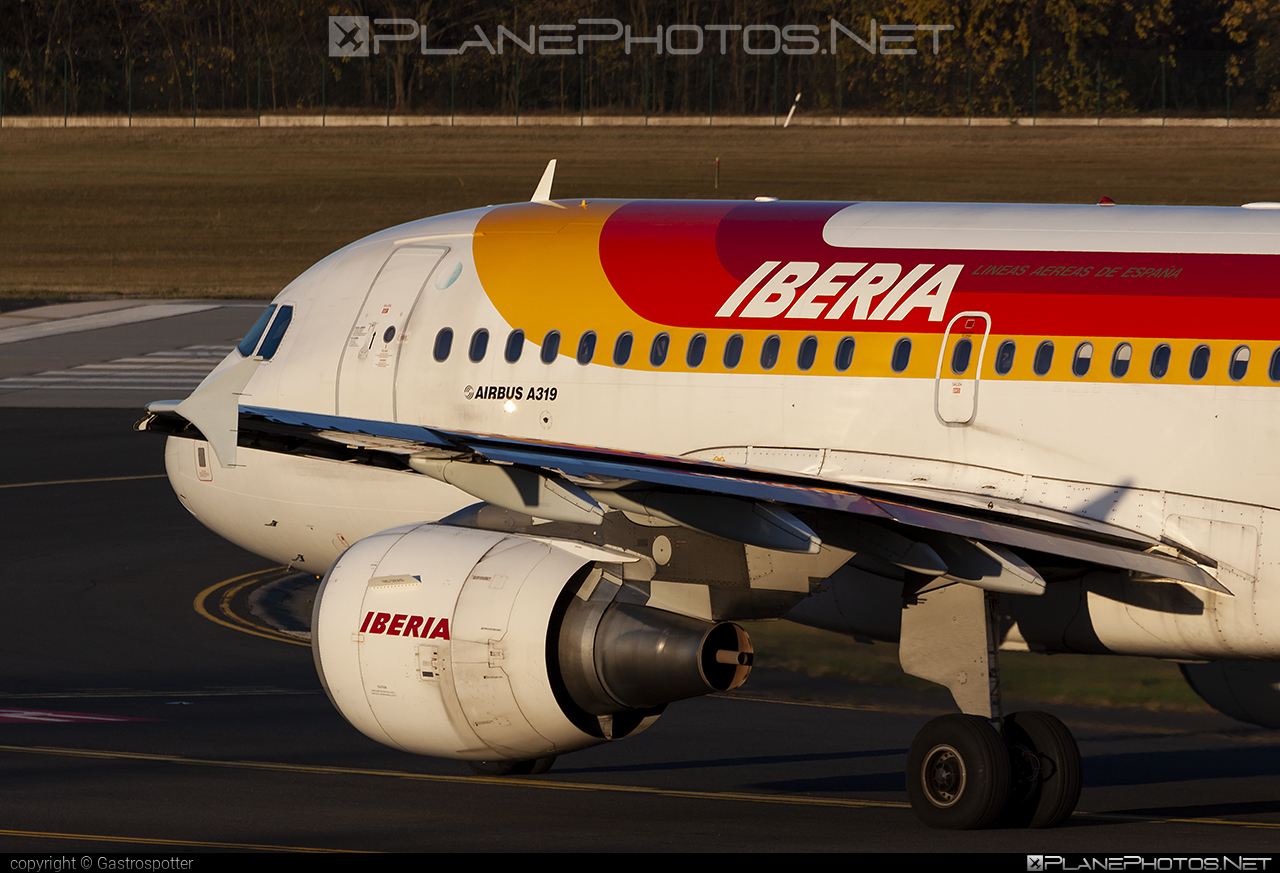 Airbus A319-111 - EC-KBX operated by Iberia #a319 #a320family #airbus #airbus319 #iberia