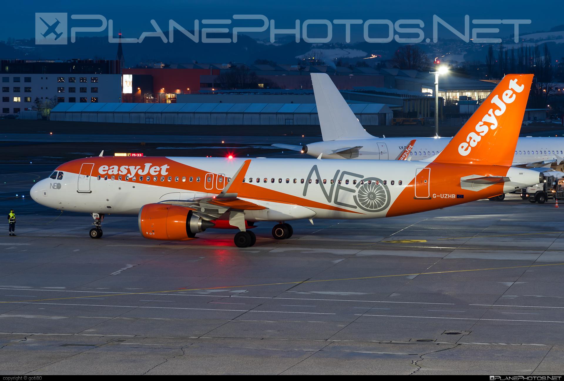 easyJet Airbus A320-251N - G-UZHB #a320 #a320family #a320neo #airbus #airbus320 #easyjet