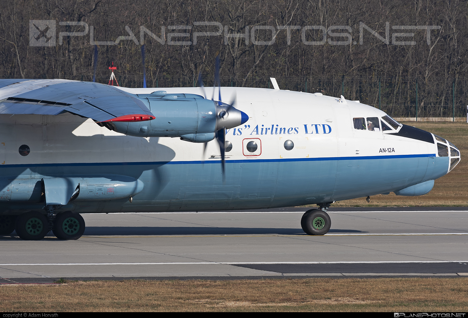 Aerovis Airlines Antonov An-12A - UR-CBF #an12 #an12a #antonov #antonov12